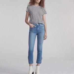 NWT Rag & Bone High Rise Cigarette Leg Jeans